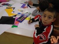 """""""Училище за карикатура"""" - демонстрация на техники и рисуване на авторски карикатури, с ръководители Дечко Николов и Николай Фитков"""