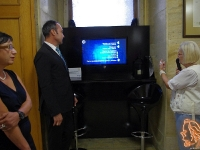 12.09.2018 - Официално откриване на интерактивен екскурзовод в ЛХМ